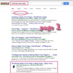 NetWebbing page goes to Top Ten on Google