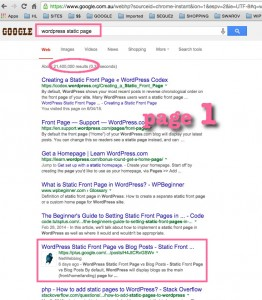 NetWebbing on Google's Page 1!